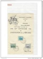 Nr 725-27 - Cartes Souvenir