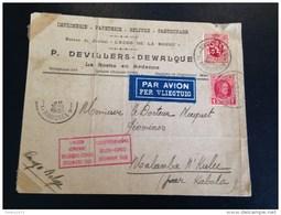 Omslag Luchtverbinding December 1930 - Congo Belge