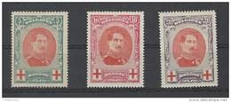 Nr 132-34 * - 1914-1915 Croix-Rouge