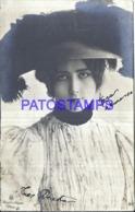 122617 ARTIST LINA CAVALIERI ITALY 1874 – 1944 ACTRESS & SINGER OPERA SOPRANO PHOTOGRAPH REUTLINGER POSTAL POSTCARD - Artisti