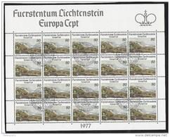 Lichtenstein Gestempeld - Europa-CEPT
