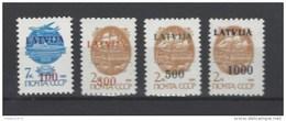 Nrs 286-89 ** - Lituanie