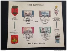Kaart Met Reeks 1385-88 - Postmark Collection