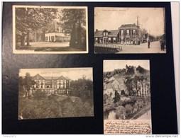 4 Oude Postkaarten - Entiers Postaux