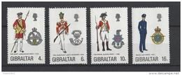 Nrs 308-11 ** - Gibraltar