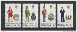Nrs 284-87 ** - Gibraltar
