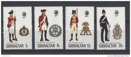 Nrs 338-41 ** - Gibraltar