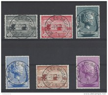 Nrs 532-37 Ca Brussel - Postmark Collection