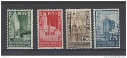 Nrs 386-89 ** - Belgium