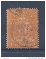 Victoria Taxzegel Nr 8    4 Shilling - Taxes