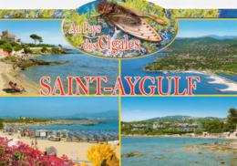 CPM - F - VAR - SAINT AYGULF - MULTIVUES - AU PAYS DES CIGALES - Saint-Aygulf