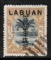 NORTH BORNEO---Labuan  Scott # J 2 VF USED (Stamp Scan # 547) - North Borneo (...-1963)