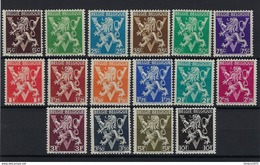 Nr 674A-89A ** - Unused Stamps
