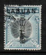 NORTH BORNEO---Labuan  Scott # J 4 VF USED (Stamp Scan # 547) - North Borneo (...-1963)