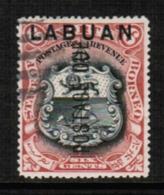 NORTH BORNEO---Labuan  Scott # J 5 VF USED (Stamp Scan # 547) - North Borneo (...-1963)