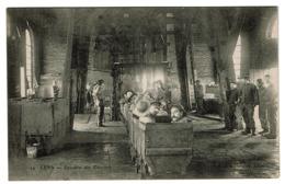 Lens - Descente Des Ouvriers - Edit. Librairie Delattre - Lens - Mine - Mineurs Charbonnage Nord-Pas De Calais - 2 Scans - Mines