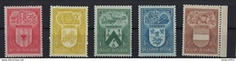 Nr 743-47 ** - Unused Stamps
