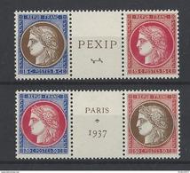Nr 348-51 ** - France