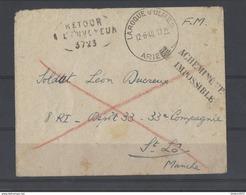 Militaire Post - Marcophilie (Lettres)