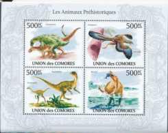 [90422]SUP//**/Mnh-Comores N° 1894/97, Faune Préhistorique, Animaux - Briefmarken