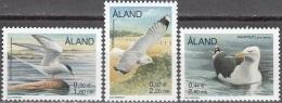 Aland 2000 Michel 168 - 170 Neuf ** Cote (2013) 3.00 Euro Oiseaux - Aland