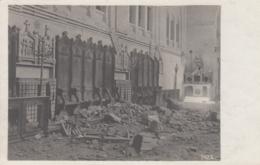 AK – I. WK - TARNOW - Zerstörtes Interieur Einer Kirche 1915 (Stempel Feldhaubitzenreg.) - Polen