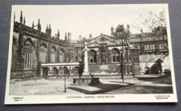ENGLAND, MANCHESTER CATHEDRAL GARDEN (no Cathedral Gardens) - Inghilterra