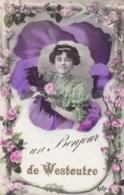 Un Bonjour De Westoutre Circulée En 1910 - Heuvelland