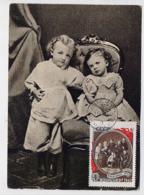 CARTE MAXIMUM CM Card USSR RUSSIA October Revolution LENIN Children - 1923-1991 UdSSR