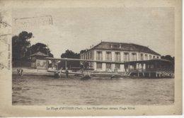83 ( Var ) - La Plage D'HYERES - Les Hydravions Devant Plage Hotel (  Timbre Non Composte Rouget De L'Isle ) - Hyeres