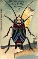 Frankreich, Politische Karikatur, Kaiser Wilhelm Als Schabe, L` Actualiste Nr 22, Sign. Orens - Satirische