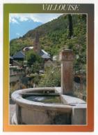 VALLOUISE --1993 -- Vue Du Village  (fontaine) ---timbre -- Cachet - Autres Communes