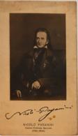 Nicolò Paganini Celebre Violinista Genovese - Musica E Musicisti