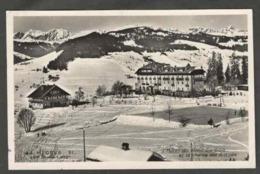 CPSM. France. Mégève. Haute Savoie. 1113 M. Neige. Écrite. Un Peu écornée. - Megève