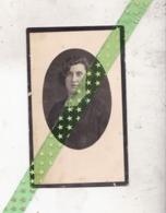 Ernestine Delphine Beda-De Bruyycker, Geboren Lokeren 1903, Overleden Grembergen 1935 - Overlijden