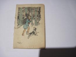 Calendrier Publicitaire  Porto Sphinx BORDEAUX / PARIS 1922  Dessin Signé  TBE - Calendarios