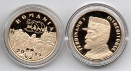 Romania - 50 Bani 2019 Proof Ferdinand I Lemberg-Zp - Roemenië