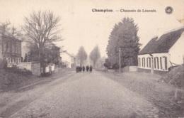 Champion Chaussée De Louvain - Belgique