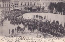 Tirlemont Fêtes Du 75 ème Anniversaire Arrivée Des Autorités Circulée En 1906 - Tienen