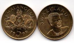 Swaziland - 5 Emalangeni 1999 UNC Lemberg-Zp - Swaziland