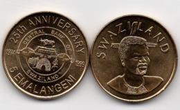 Swaziland - 5 Emalangeni 1999 UNC Comm. Lemberg-Zp - Swaziland