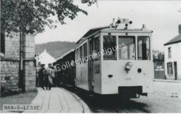 Carte Postale Photographique N° 18 Tram De Han-S-Lesse - Trains