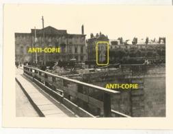 WW2 PHOTO ORIGINALE ALLEMANDE Destruction Square Rabelais à TOURS 37 INDRE ET LOIRE - 1939-45