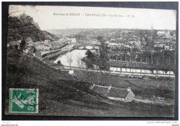 CPA 29 CHATEAULIN - La Rivière - Environs De Brest - éditeur GB -  Réf. D 13 - Châteaulin