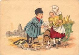 CPM - Les Petits Métiers - La Petite Laitière - De Kleine Melkboerin - Street Merchants