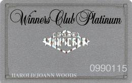 Tropicana Casino Las Vegas, NV - Slot Card With Hologram Logo & Silver Reverse - Casino Cards