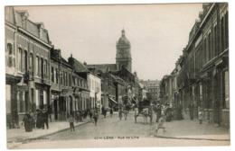Lens - Rue De Lille - Edit. Librairie Delattre - 2 Scans - Lens