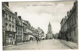 Lens - La Grand'Place - Edit. P.-L. Rue Des Arts Lille - 2 Scans - Lens