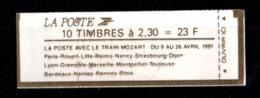 France Carnet 2614 C11 Fermé - Markenheftchen