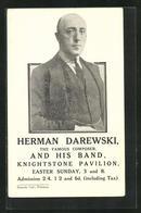 AK Komponist Herman Darewski Mit Band Im Knightstone Pavilion - Entertainers